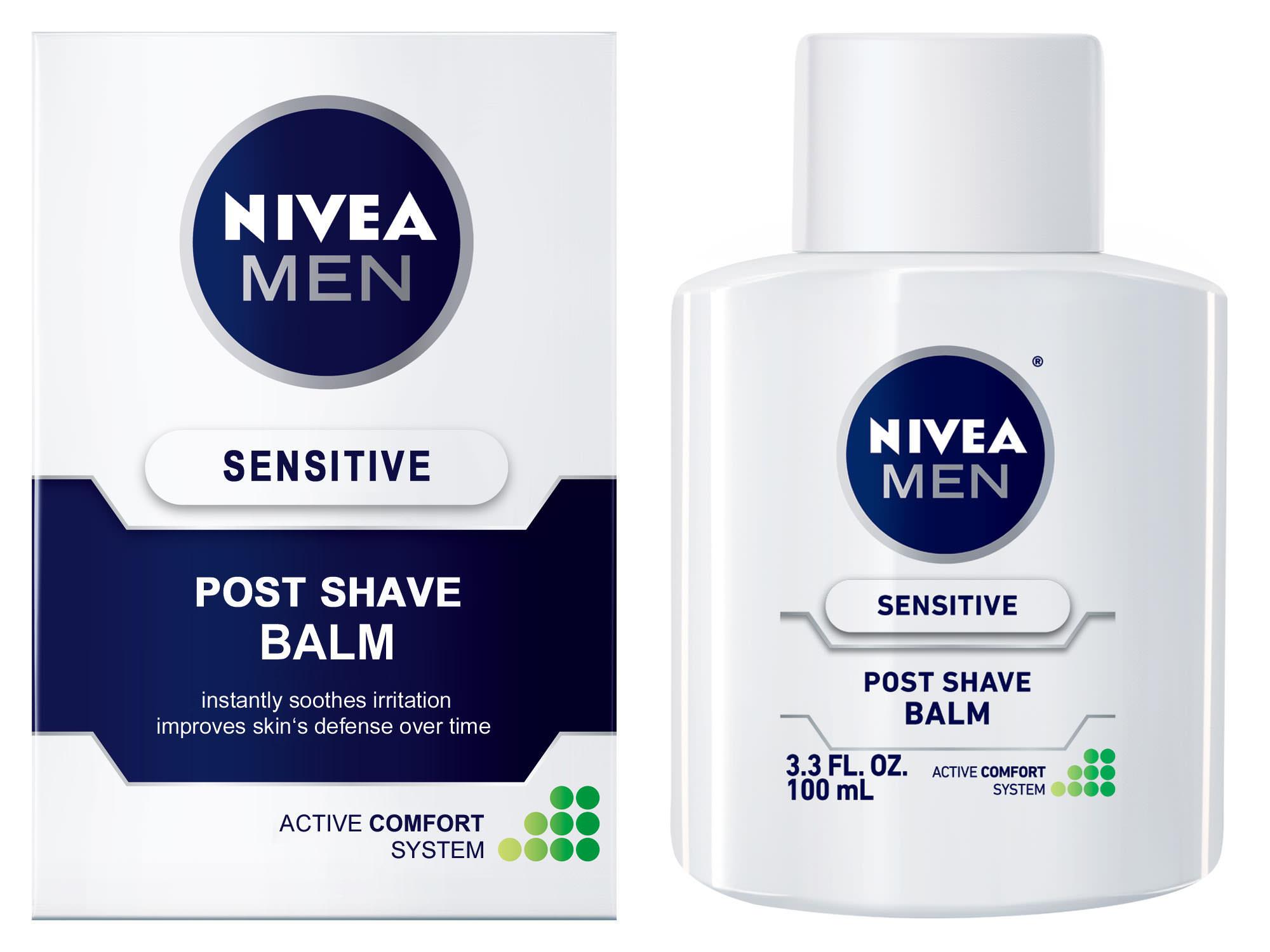 Nivea Mens Post Shaving Balm… Best Primer EVER?!